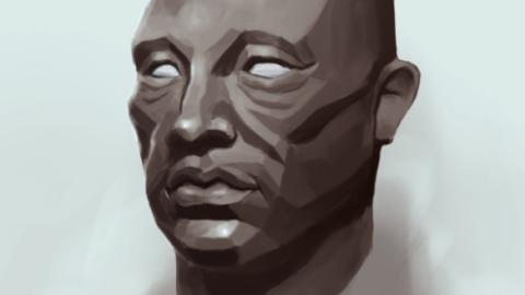 Démonstration – Dessiner un portrait #1