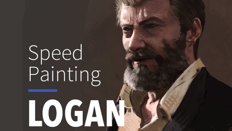 Speed Painting – LOGAN (Hugh Jackman) #9