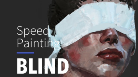 Speed Painting – PORTRAIT BLIND #13