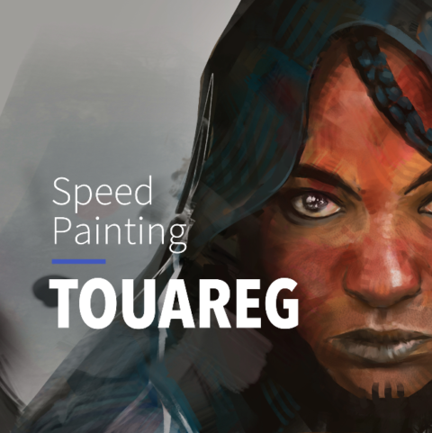 Speed Painting – PORTRAIT TOUAREG #11