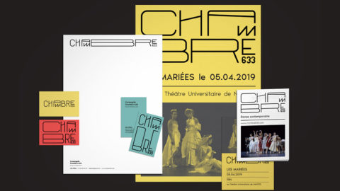 Compagnie Chambre 633- Identité visuelle