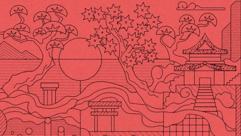 Fresque Dazuma – Illustration