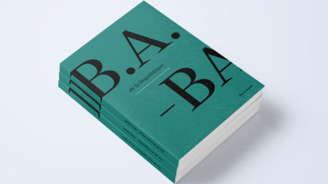 B.A.-BA de la linguistique – Micro-édition