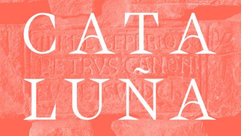 Cataluña typeface – Création typographique